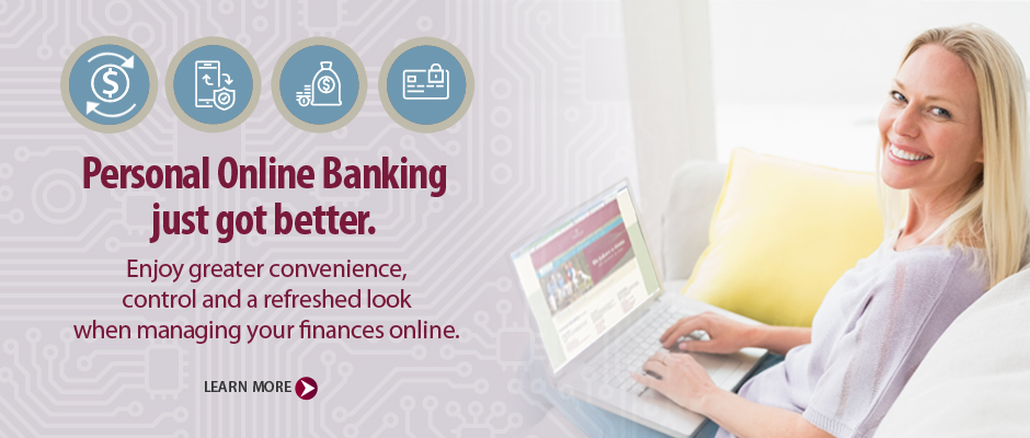 Personal Online Banking just got better